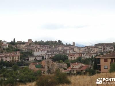 Hoces Río Duratón - Villa Sepúlveda; viaje senderismo octubre